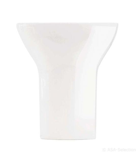 *Vase, weiß
