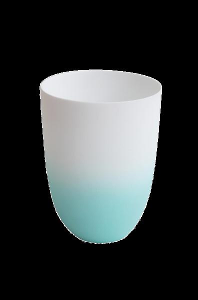 *Vase/ Windlicht aqua