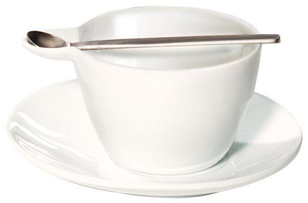 Espressotasse m.Unterer+Edelstahllöffel