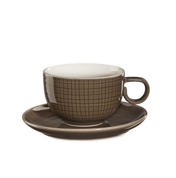 Kaffeetasse m. Unterer, muscat