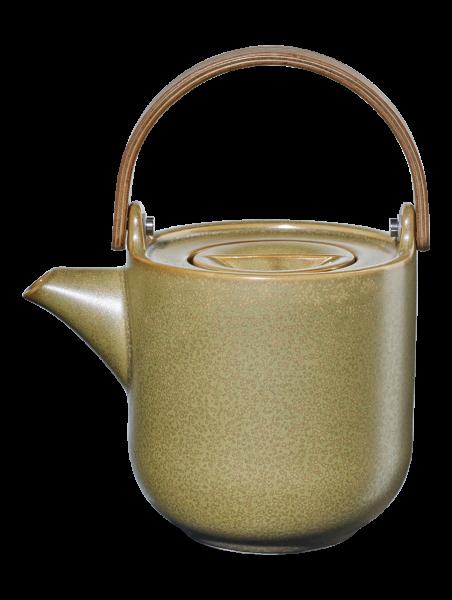 Teekanne mit Holzgriff, miso