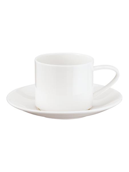 Tasse mit Unterer stapelbar