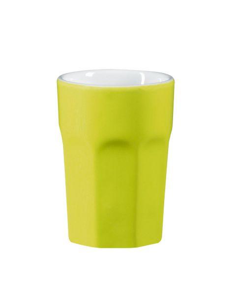 Becher Cappuccino, limette