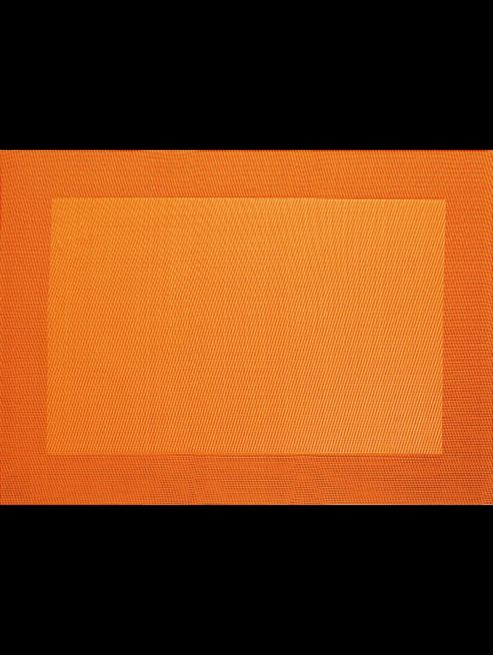 Tischset, orange