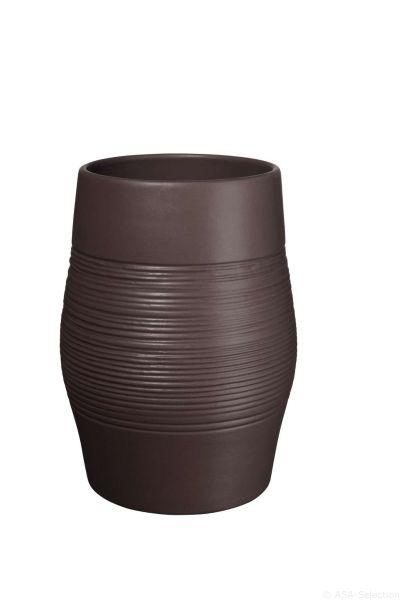 Vase, mocha