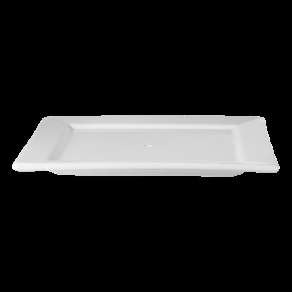 Ersatzteller,weiß,25,5x25,5cm