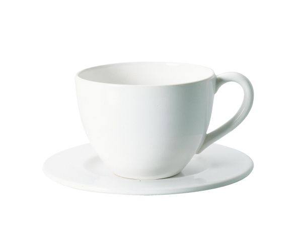 Cafe au lait Tasse mit Unterer