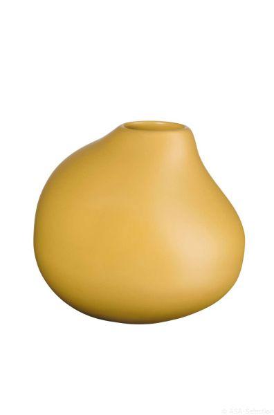 Vase, mustard