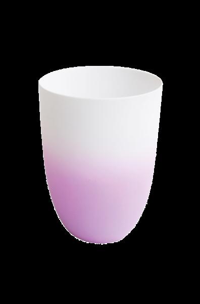 *Vase/ Windlicht, flieder