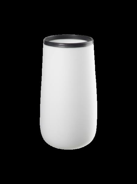 vase organique, blanc