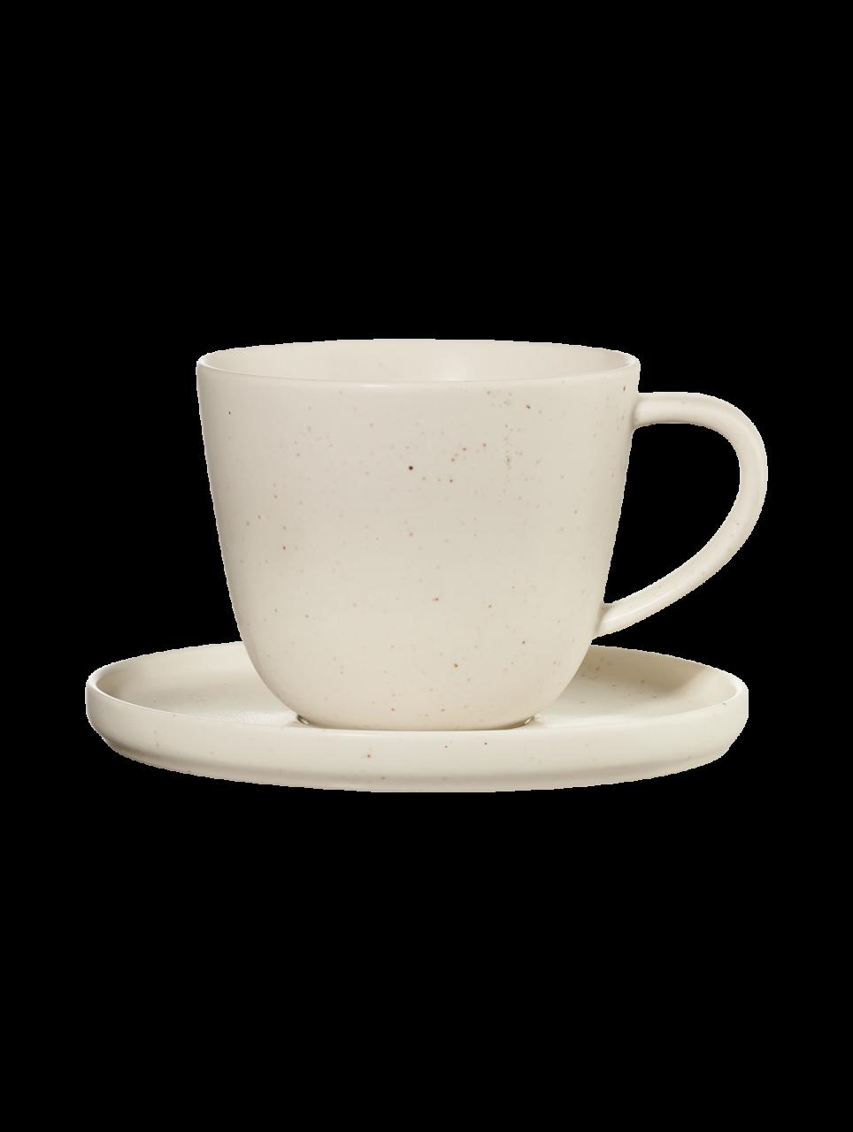 Kaffeetasse mit Unterer, sencha