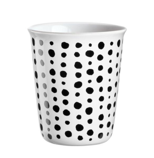 Becher Espresso, black spots