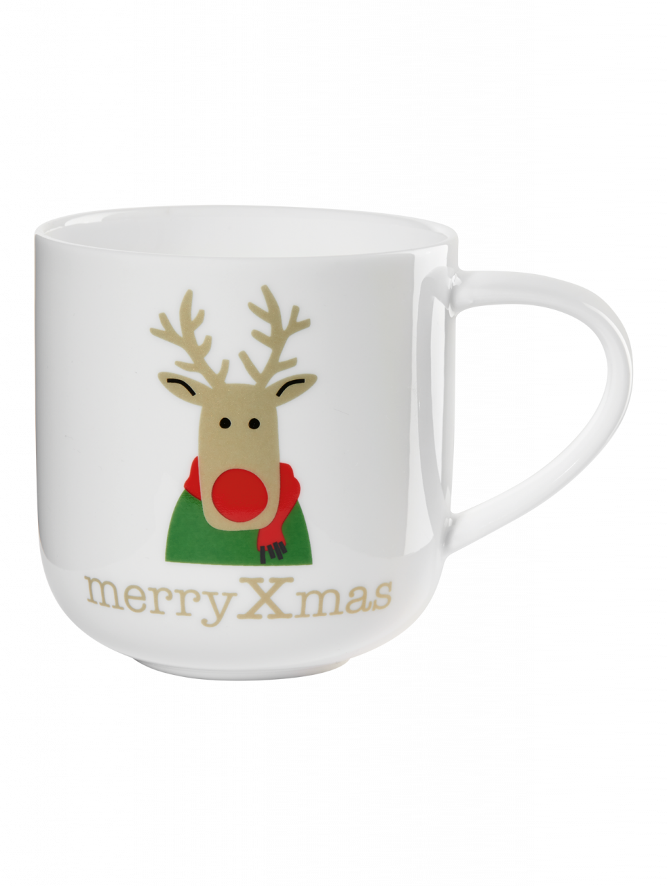 Henkelbecher, red nosed reindeer