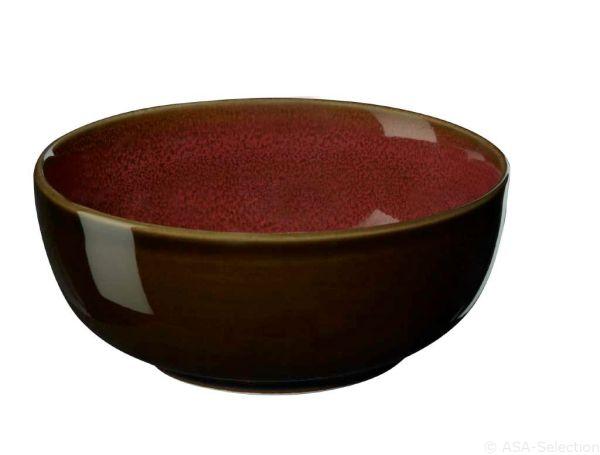 "Schale ""kolibri"", rusty red"