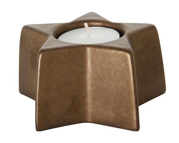 Teelichthalter Stern, ferro