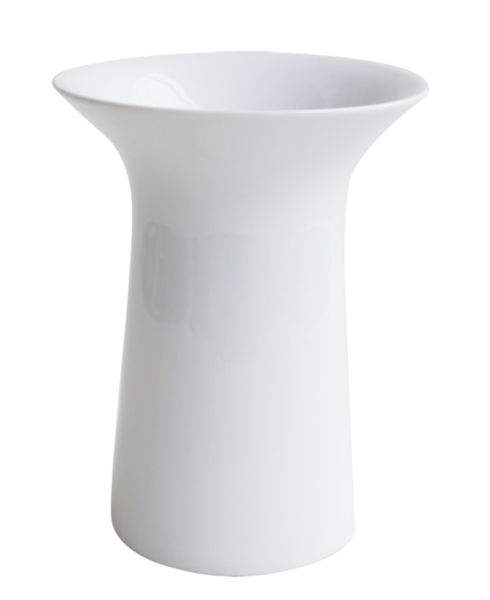 Vase, weiß
