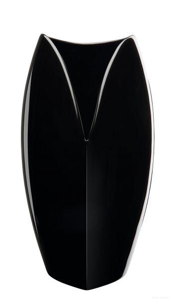 Vase, schwarz