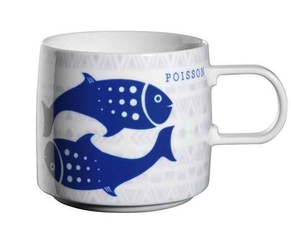 Henkelbecher, Fisch