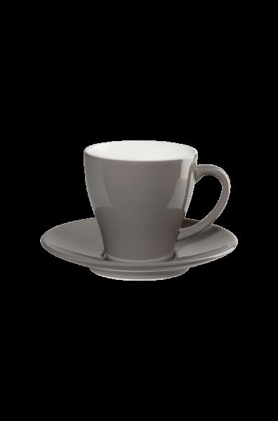 Kaffeetasse mit Unterer, taupe