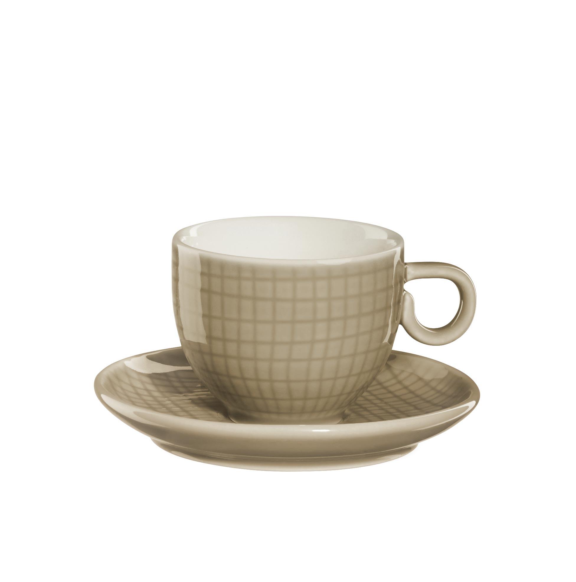 espressotasse mit unterteller home by asa die asa selection wohnwelten. Black Bedroom Furniture Sets. Home Design Ideas