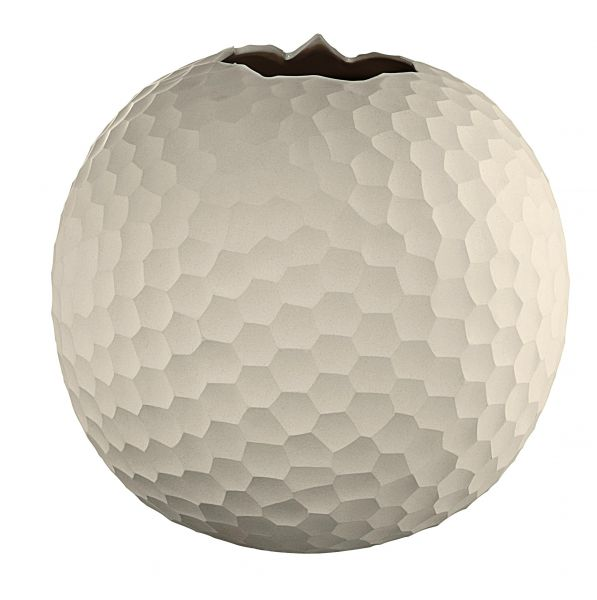 Kugel-Vase, natur