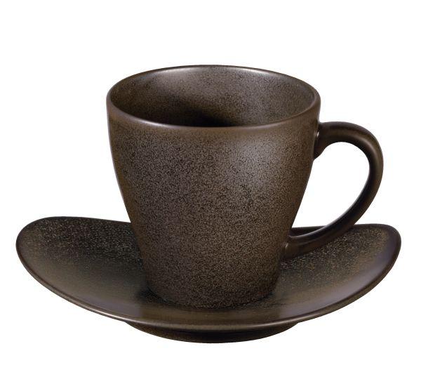 Tasse mit Unterer, marone