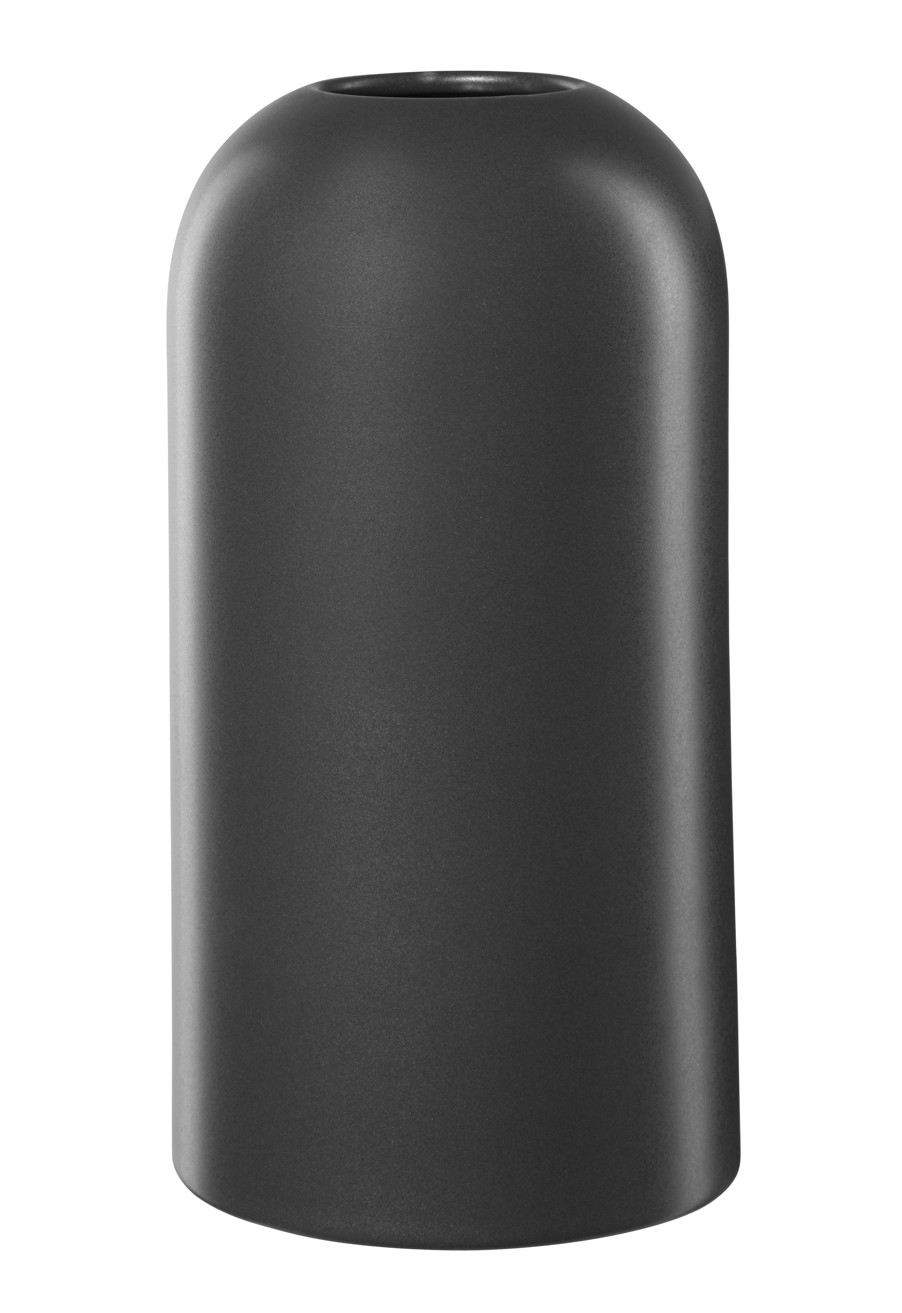 vase dunkelgrau vasen wohnaccessoires produkte. Black Bedroom Furniture Sets. Home Design Ideas