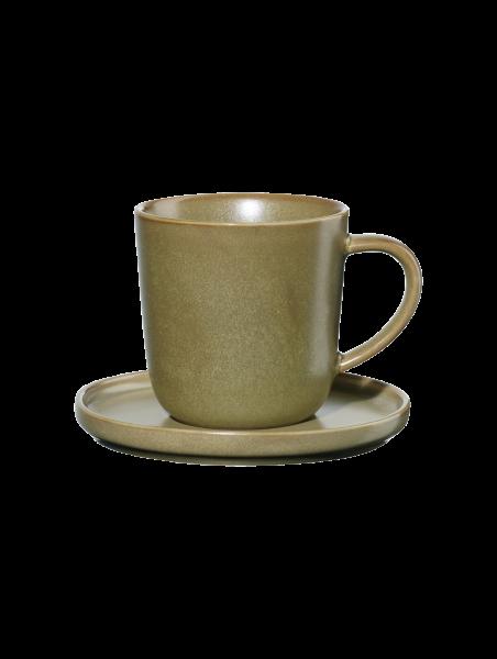 Espressotasse mit Unterer, miso