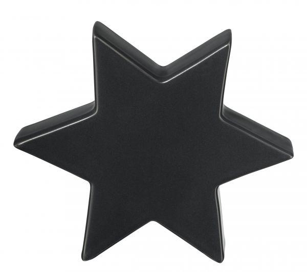Stern, dunkelgrau