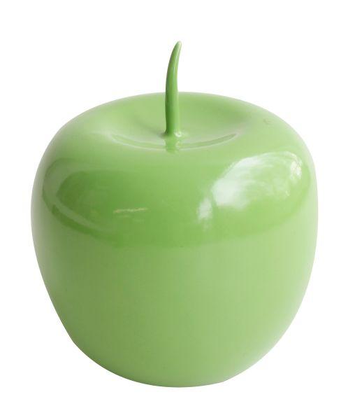 Deko Apfel, grün