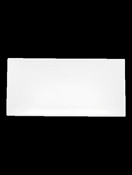 assiette rectangulaire 29 x 14,5 cm