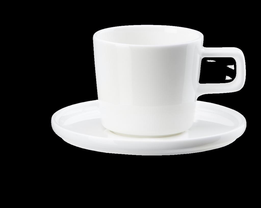 Kaffeetasse mit Unterteller