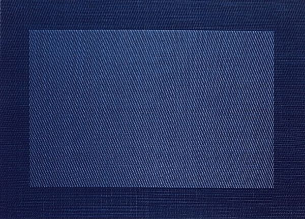 set de table, bleu foncé