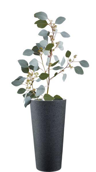 Vase, lava grau