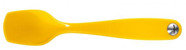 *4er Set Eierlöffel gelb