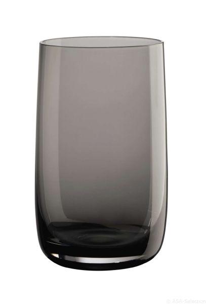Longdrinkglas, grau (2. Wahl)