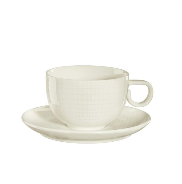 Kaffeetasse m. Unterer, vanill