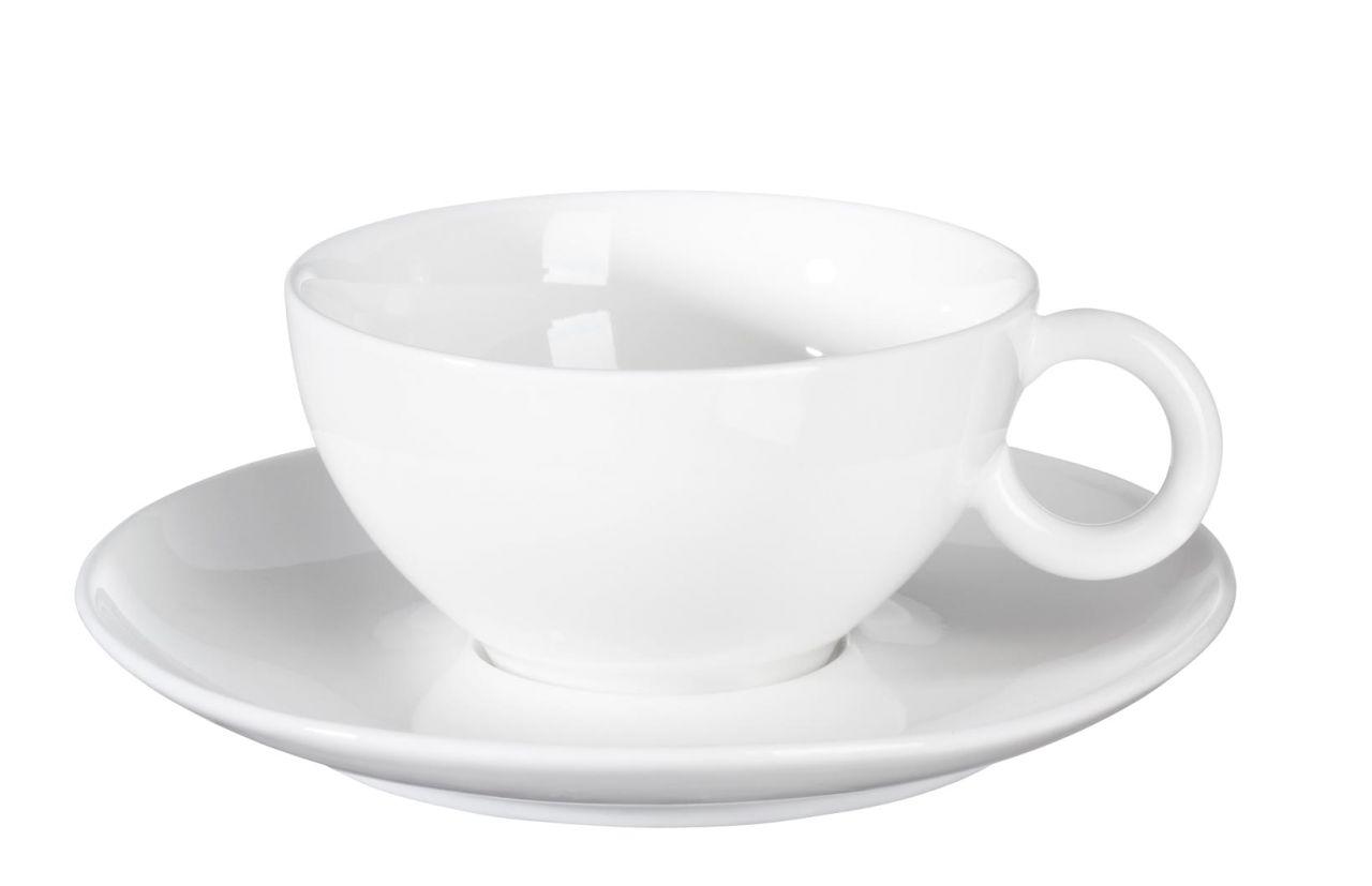 *Teetasse mit Unterer weiss