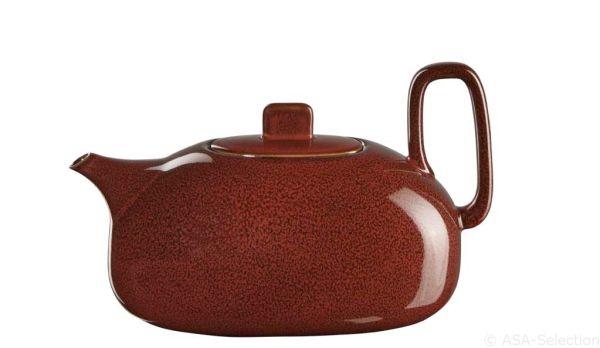 Teekanne, rusty red