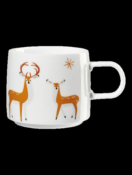 Henkelbecher, deer couple