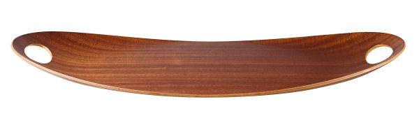 Holztablett oval