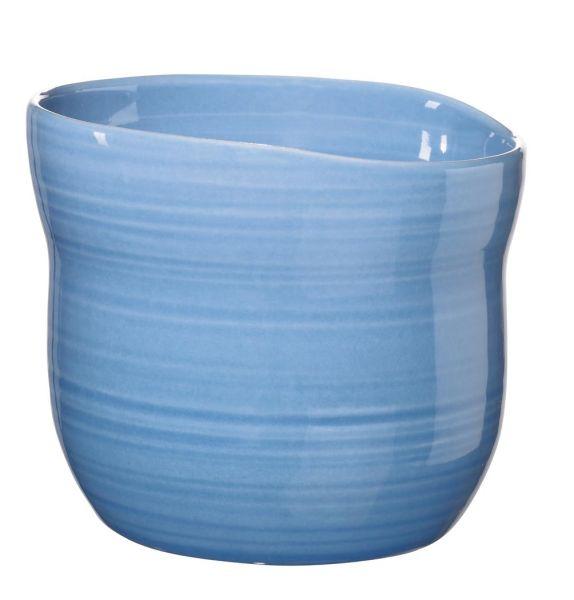 Becher S, solid blau