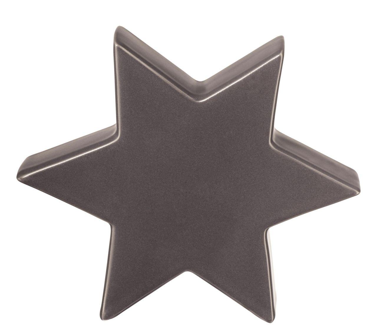Stern, warm grey