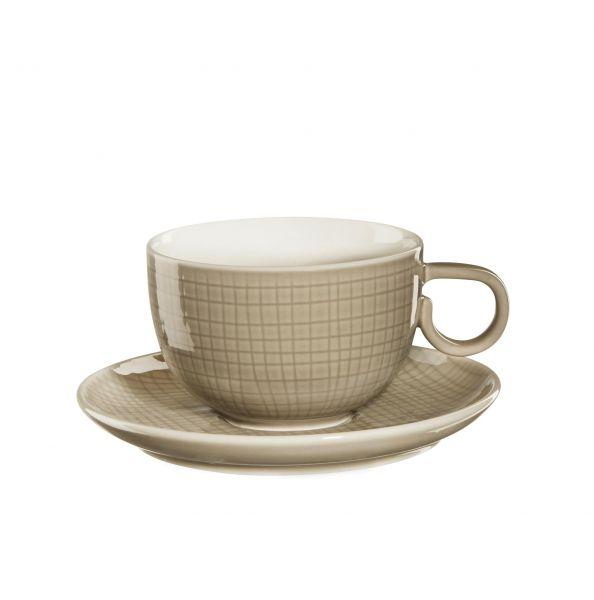 Kaffeetasse m. Unterer, tonca