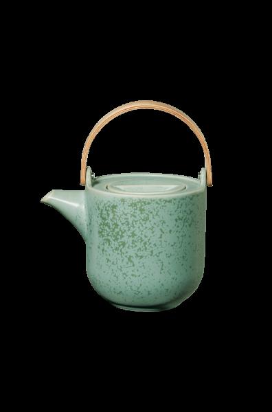 Teekanne mit Holzgriff, minto
