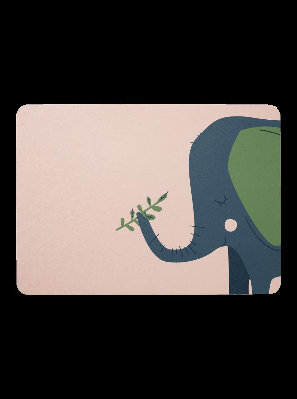 Kindertischset, Emma Elefant