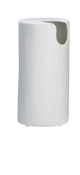 *Vase rund  H. 17 cm,  D. 7 cm