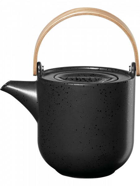 Teekanne mit Holzgriff, kuro