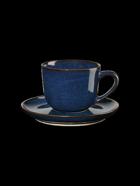 Espressotasse mit Unterer, midnight blue