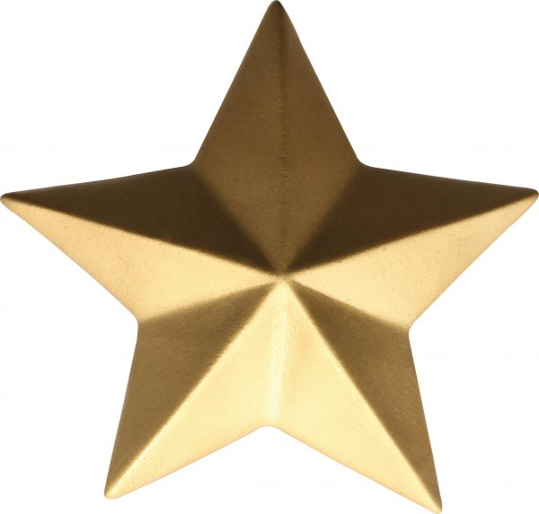 Deko-Stern, gold